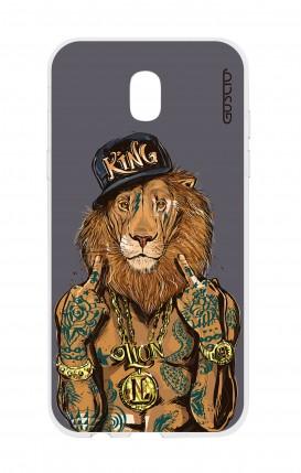 Cover Samsung Galaxy J5 2017 - Lion King grigio