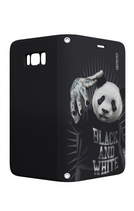 Case STAND VStyle Samsung S8 - B&W Panda