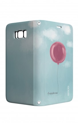 Case STAND VStyle Samsung S8 - Freedom Ballon