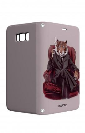 Cover STAND Samsung S8 - Tigre elegante