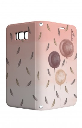 Cover STAND Samsung S8 - 3 Palloncini rosa