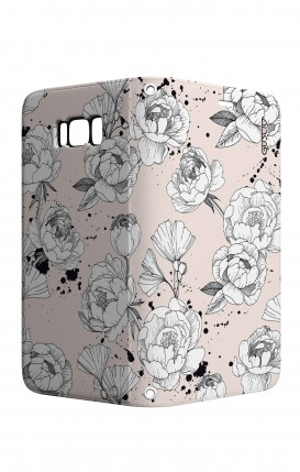 Cover STAND Samsung S8 - Peonie