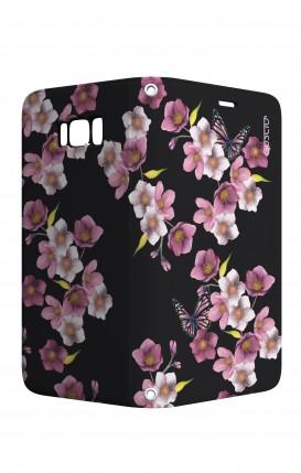 Cover STAND Samsung S8 - Fiori di ciliegio