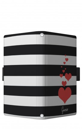 "Cover Universal Casebook LARGE/SHORT for 5.2""-5.8"" display - Loving Stripes"