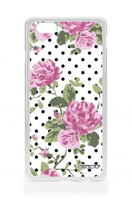 Cover Apple iPhone 6/6s - Rose e pois