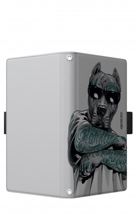 "Case UNV BOOK 5.2-5.8"" (Short-Ears) - Tattooed Pitbull"