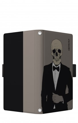 "Case UNV BOOK 5.2-5.8"" (Short-Ears) - Tuxedo Skull"