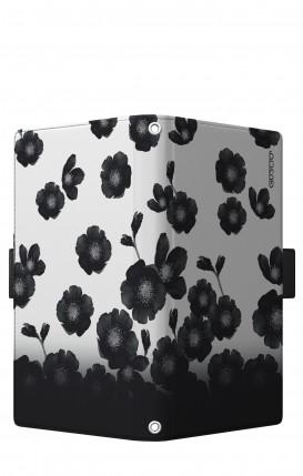 "Case UNV BOOK 5.2-5.8"" (Short-Ears) - Black Shade Flowers"