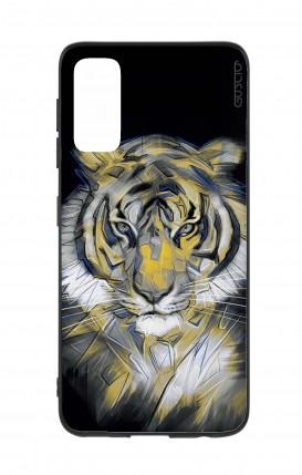 Cover Samsung S20 - Neon Tiger