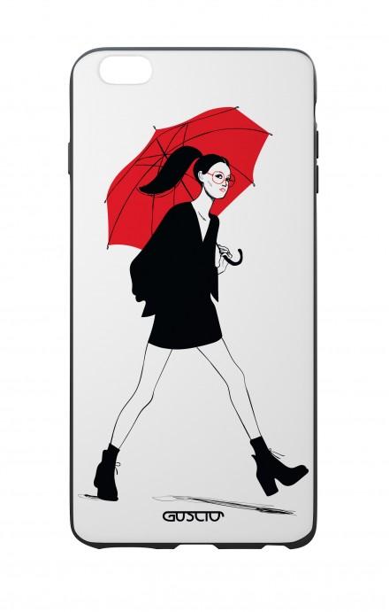 Cover Bicomponente Apple iPhone 6/6s - Ombrello rosso