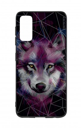 Cover Samsung S20 - Neon Wolf