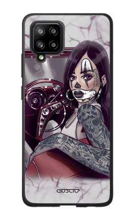 Cover Samsung A42 - Chicana Pin Up on her way