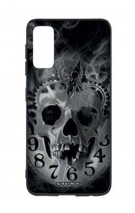 Cover Samsung S20 - Skull & Clock