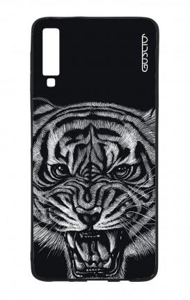 Cover Bicomponente Samsung A7 2018 - Tigre nera