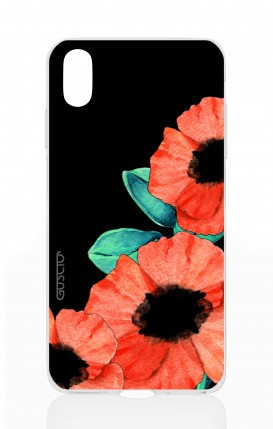 Cover Apple iPhone X - Tulips