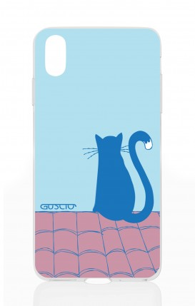 Cover Apple iPhone X/XS - il gatto sul tetto