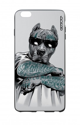 Apple iPhone 6 WHT Two-Component Cover - Tattooed Pitbull