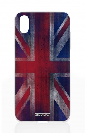 Cover Apple iPhone X - Vintage Union Jack