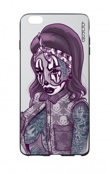 Cover Bicomponente Apple iPhone 6/6s - Pin Up Clown Chicana