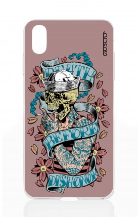 Cover Apple iPhone X/XS - Death before dishonor