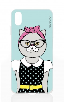 Cover Apple iPhone X - Milady Kitty