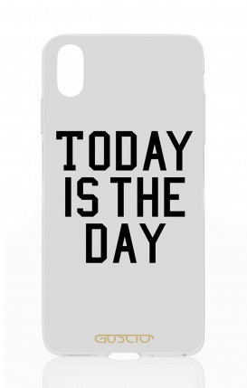 Cover Apple iPhone X - Today is the Day
