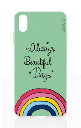 Cover Apple iPhone X/XS - Always beautiful days