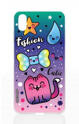 Cover TPU Apple iPhone X/XS - Kawaii FashionCutie