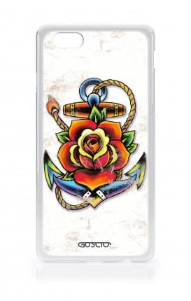 Cover Apple iPhone 6/6s - Ancora con fiore