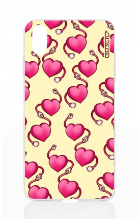 Cover Apple iPhone X - Hearts