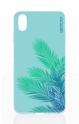 Cover Apple iPhone X - Sky Leaves