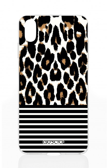 Cover Apple iPhone X/XS - Animalier & Stripes