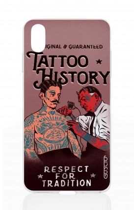 Cover Apple iPhone X/XS - Tattoo History