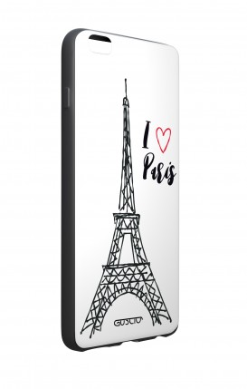 Case STAND Apple iphone 7/8Plus - Satin White Ribbon