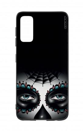 Cover Bicomponente Samsung S20 - Calavera occhi