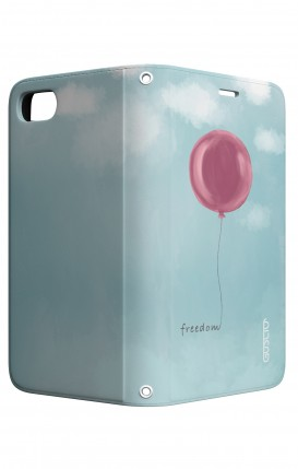 Cover STAND Apple iphone 7/8Plus - palloncino della libertà