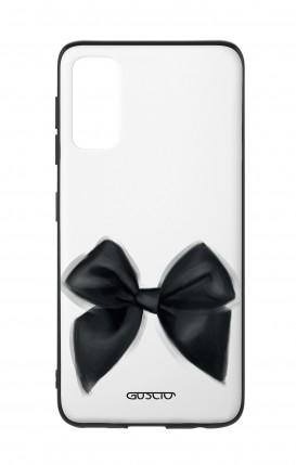 Cover Bicomponente Samsung S20 - Fiocco nero