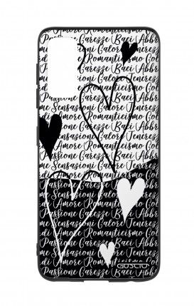 Cover Samsung S20 - Black & White Writings