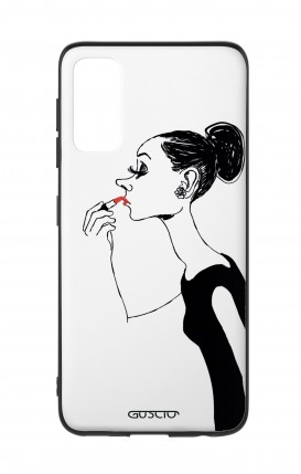 Cover Samsung S20 - Lady with Lipstick