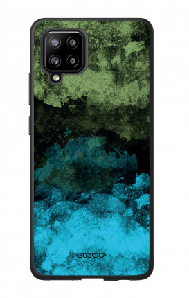 Cover Bicomponente Samsung A42 - Mineral BlackLime
