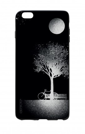 Apple iPhone 6 WHT Two-Component Cover - Moon and Tree