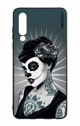 Huawei P30 WHT Two-Component Cover - Calavera Grey Shades