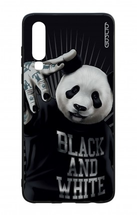 Huawei P30 WHT Two-Component Cover - B&W Panda