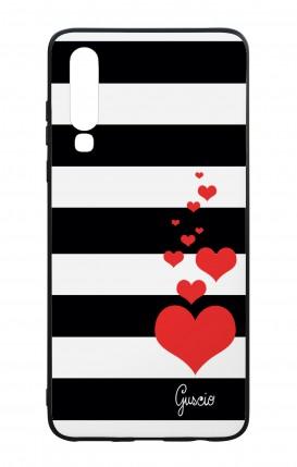 Cover Bicomponente Huawei P30 - Loving Stripes