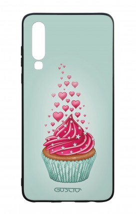 Huawei P30 WHT Two-Component Cover - Cupcake in Love