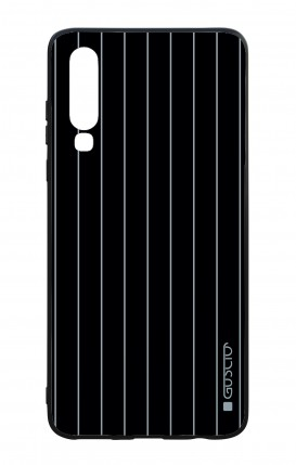 Huawei P30 WHT Two-Component Cover - Classic Stripes