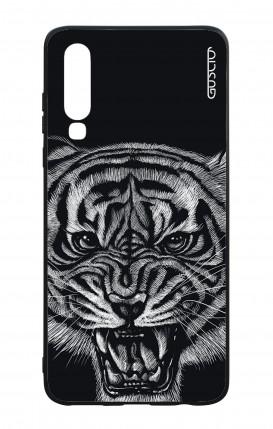 Cover Bicomponente Huawei P30 - Tigre nera