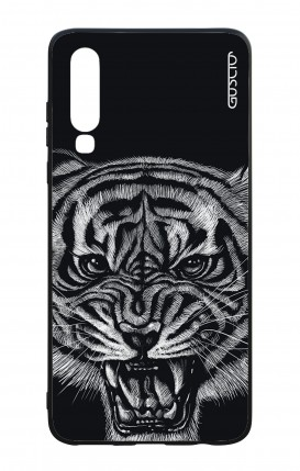 Huawei P30 WHT Two-Component Cover - Black Tiger