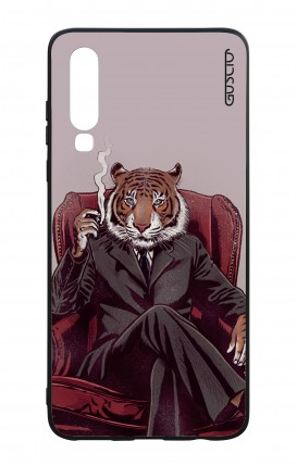 Huawei P30 WHT Two-Component Cover - Elegant Tiger