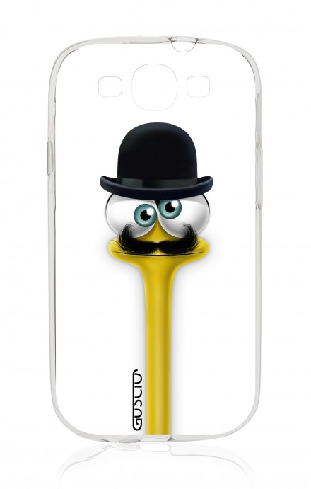 Cover Samsung Galaxy S3 GT i9300 - Yelloneck Moustache